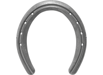 St. Croix Ultra Lite Rim horseshoe, bottom view